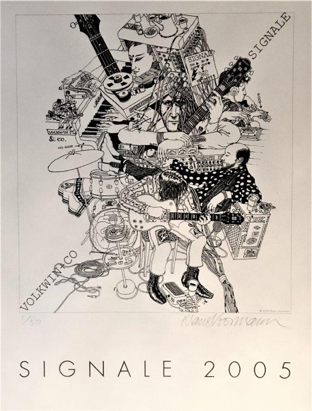 Poster - Klaus Voormann – Signale
